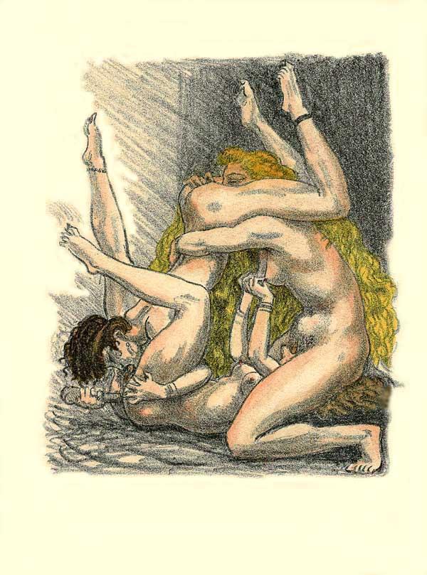 Erotic art of george barbier 2 poemes en prose - 3 part 10